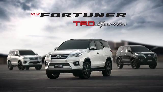 Photo of โตโยต้า ฟอร์จูนเนอร์ ทีอาร์ดี สปอร์ติโว Toyota Fortuner TRD Sportivo